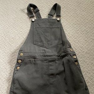 Olive green Skirt overalls